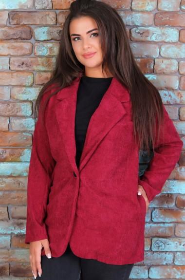 Вельветовый пиджак женский VL-459A11.5
