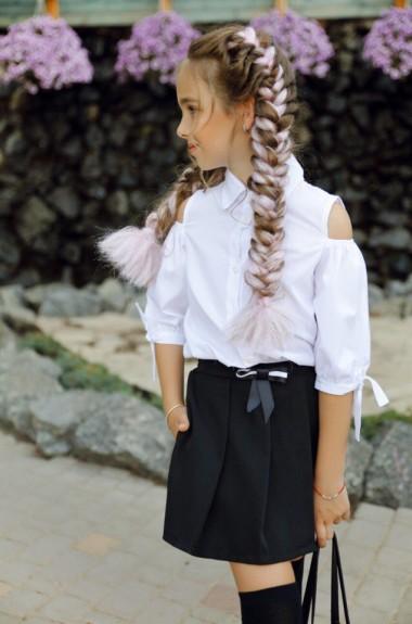 Школьные шорты для девочки KL-288