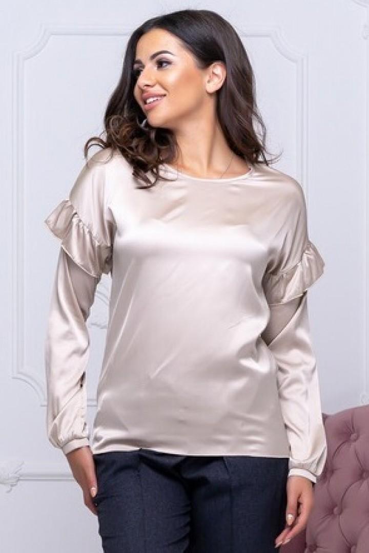 Красивая шелковая блузка ALL-2112A12