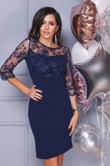 Вечернее платье с вышивкой IVP-3106