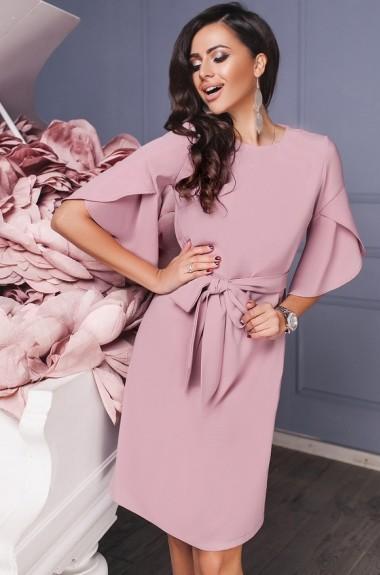 Платье с поясом на талии IVP-3101