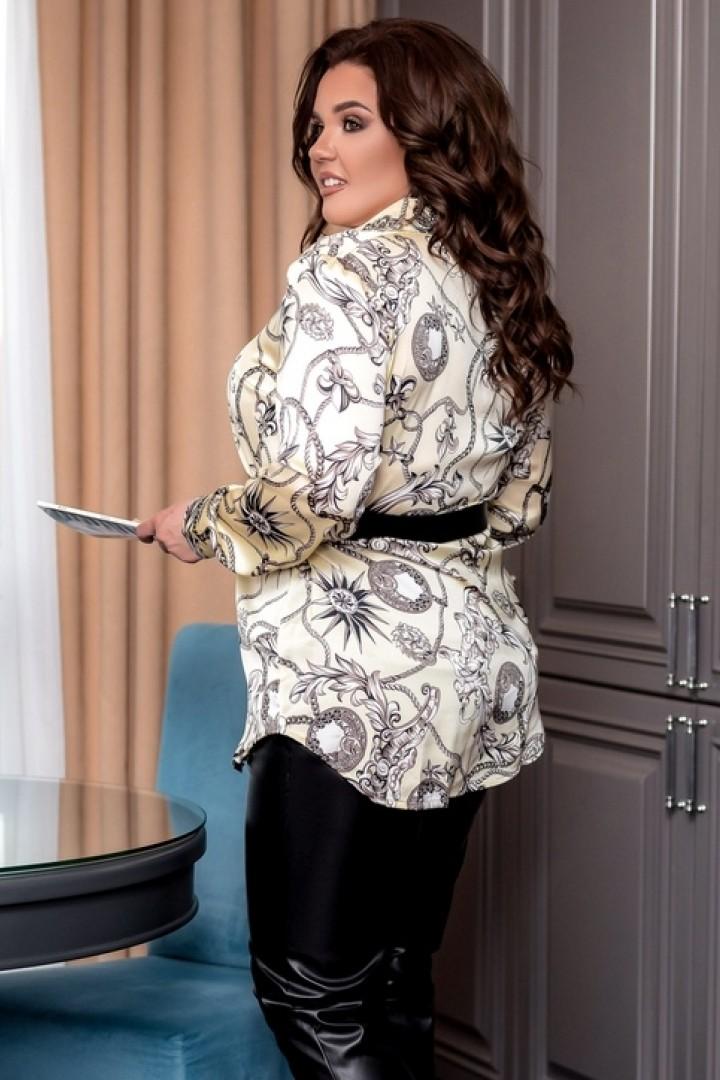 Блуза с принтом EY-237A17B20