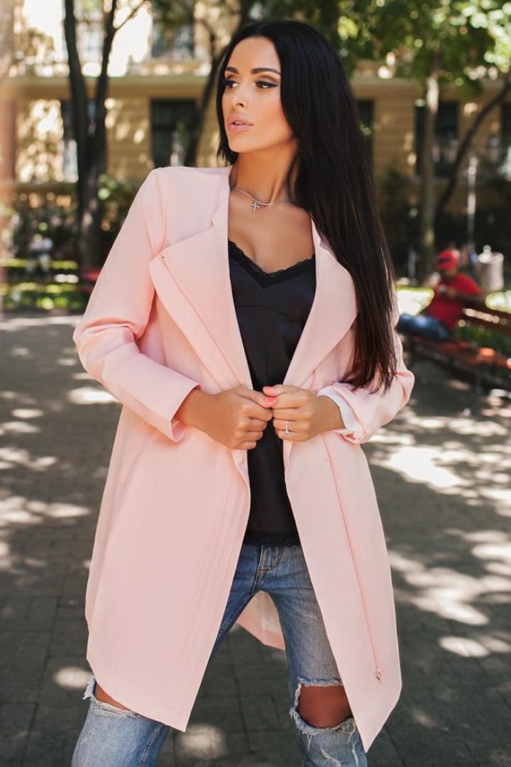 Модное короткое пальто LZ-014