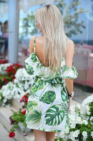 Короткое платье сарафан VM-9187A14.5