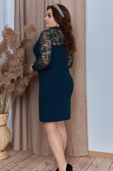 Комбинированное вечернее платье YM-05147A14