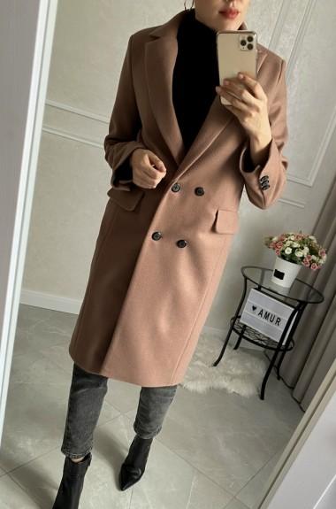 Классическое прямое пальто AMU-540A530B560
