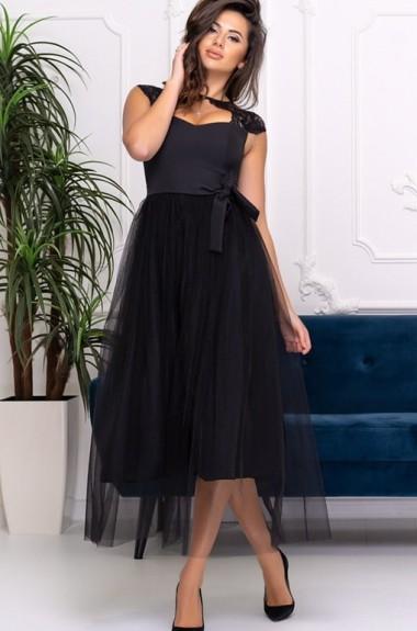 Шикарное коктейльное платье ALL-1521A21