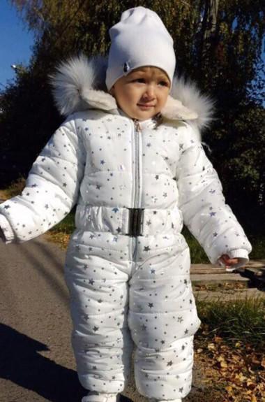 Детский комбинезон с мехом MMS-734A600