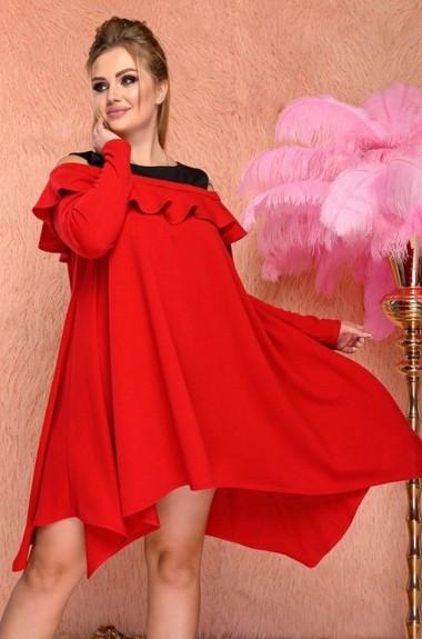 Трикотажное молодежное платье YS-829A520B57
