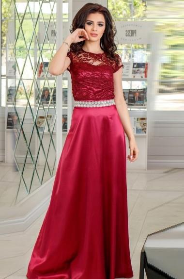 Красивое вечернее платье в пол EY-045