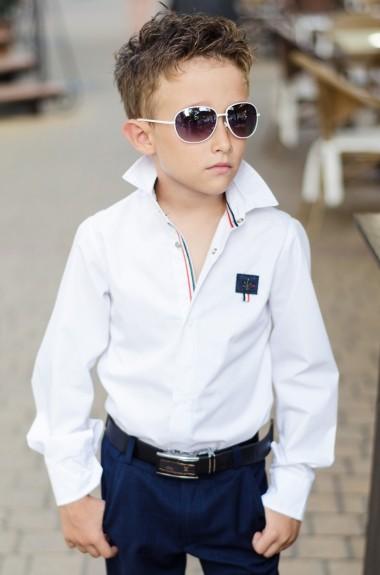 Детская рубашка для мальчика EV-621