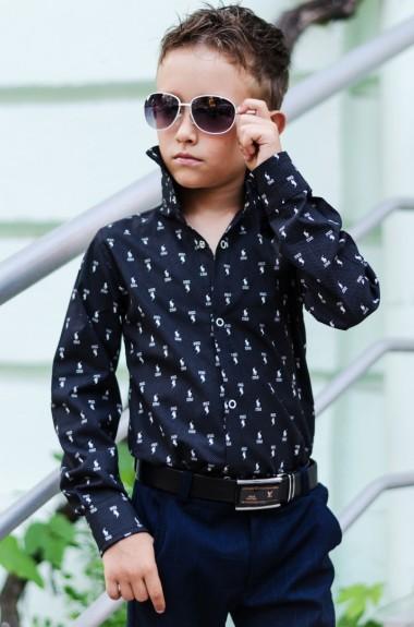 Рубашка детская с длинным рукавом EV-618