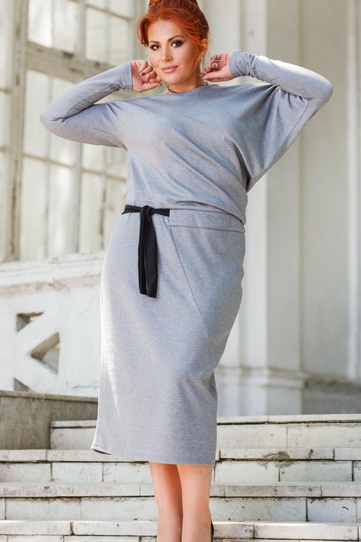 Платье с рукавом летучая мышь DG-ak0463A400