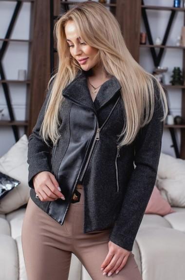 Комбинированная куртка женская VCH-551A19