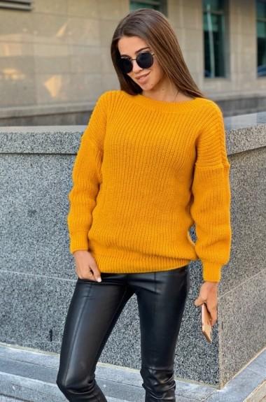 Желтый свитер женский VT-260919A260