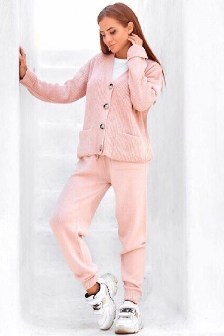 Модный вязаный костюм VT-061019A550