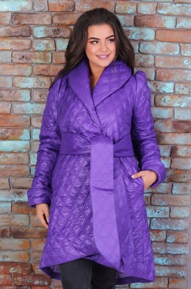 Пальто женское трапеция EKS-824A16