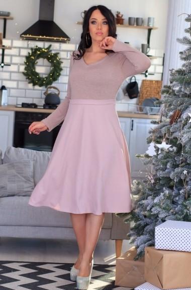 Платье с юбкой клеш SD-260A16