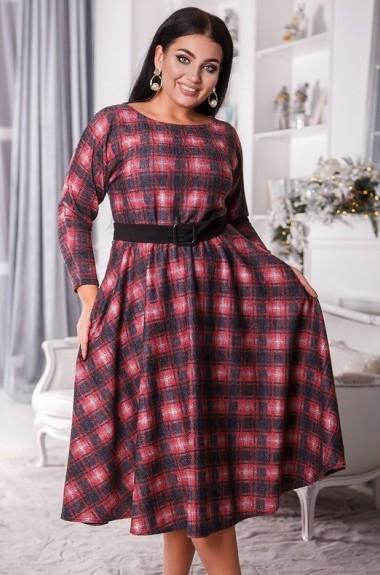 Модное платье в клетку DG-c41390A500