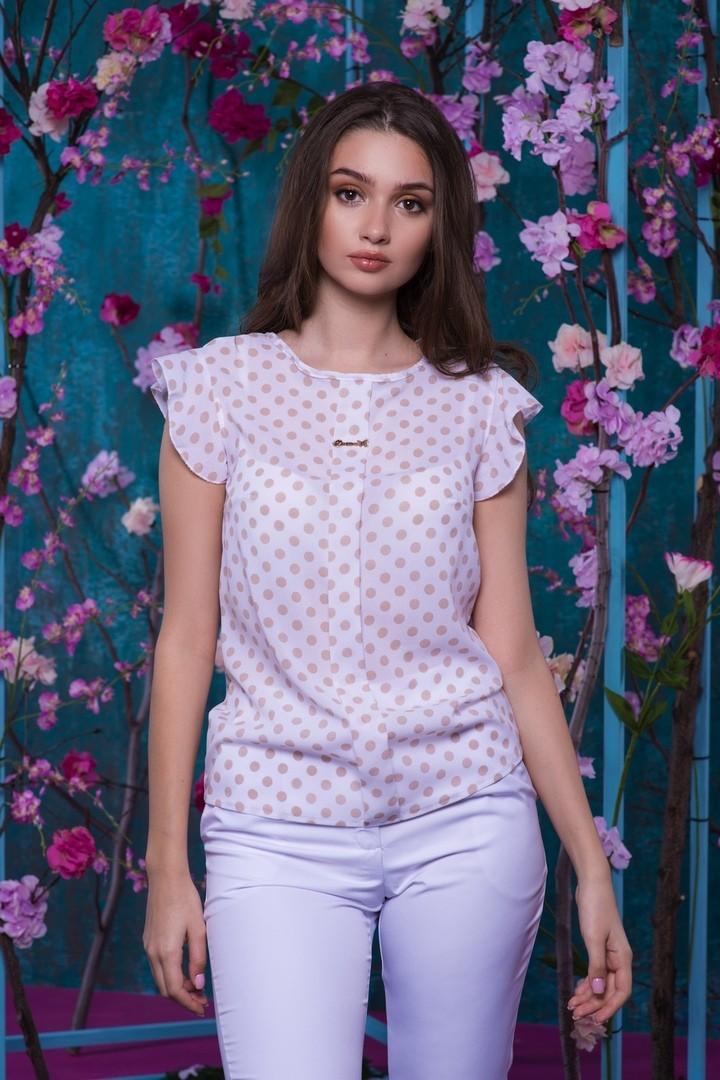 Женская блузка с принтом JAV-047.5049