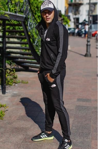 Спортивный костюм с капюшоном мужской RO-1213A23