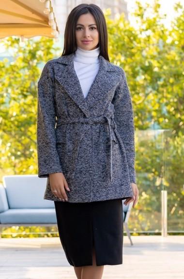 Твидовый удлиненный пиджак ALL-1528A20