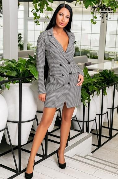 Платье пиджак вельветовое KV-S920A400
