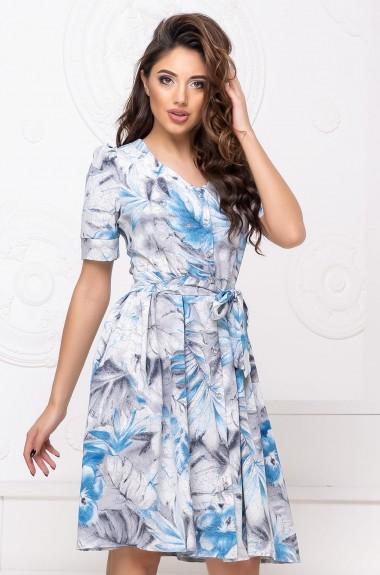 Платье женское с принтом ALP-890A310
