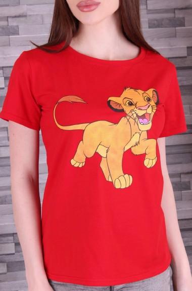 Модная молодежная футболка ALP-881A145