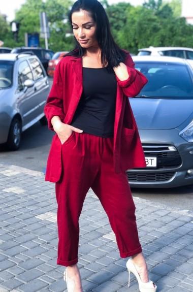 Модный костюм из льна AMR-0225