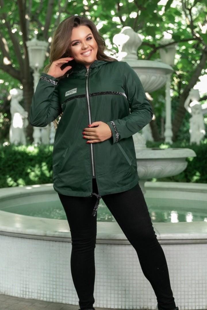 Женская ветровка с капюшоном NS-063