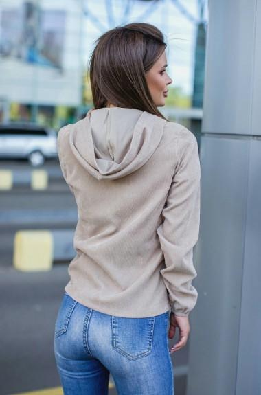 Вельветовая куртка женская MIO-1066A300