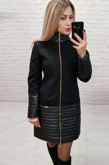Пальто приталенного силуэта EMR-137