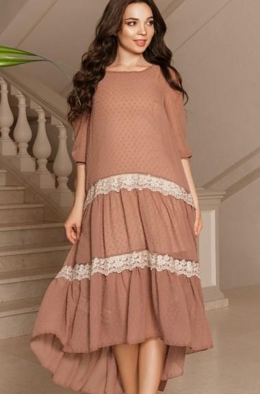 Красивое шифоновое платье BAB-183A480