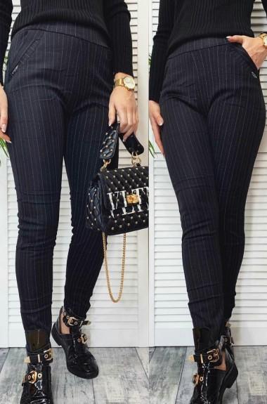 Утепленные черные брюки NAV-1956A220