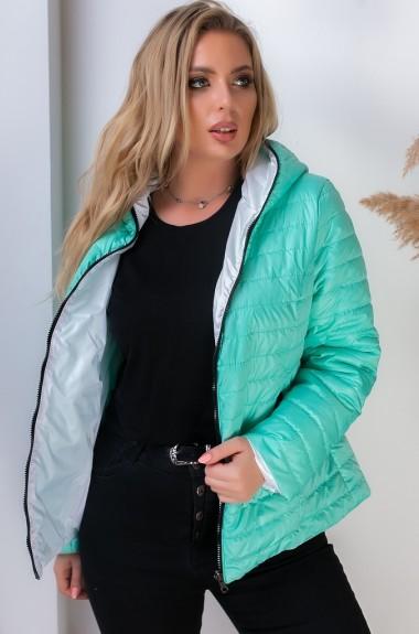 Двухцветная куртка MUN-185A550