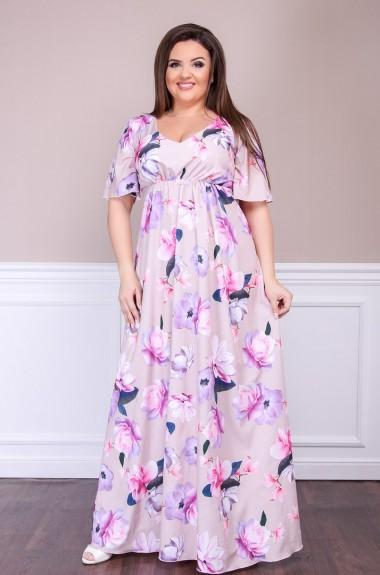 Красивое нежное платье SIM-S8253