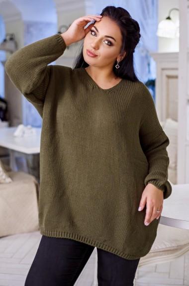 Вязаный свитер оверсайз DG-at07A370