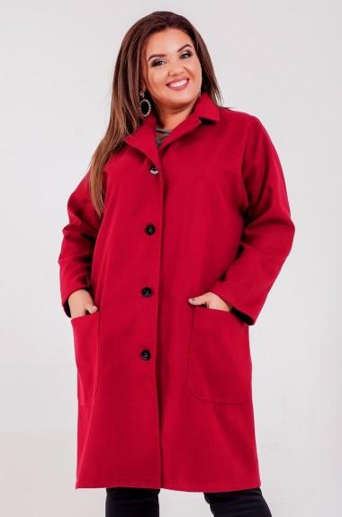 Кашемировое пальто с воротником женское SIM-S8266A26