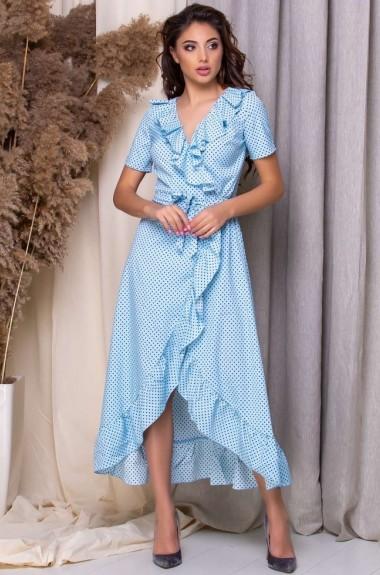 Платье халат длинное KL-358A360