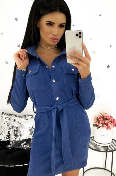 Вельветовое платье женское ANA-1317A14