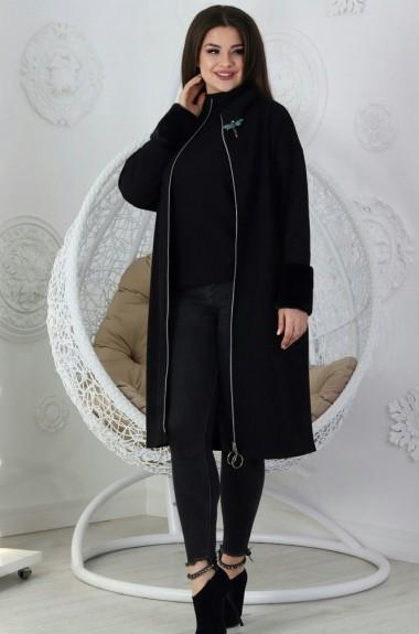 Трикотажное пальто-кардиган SM-403201A15B17