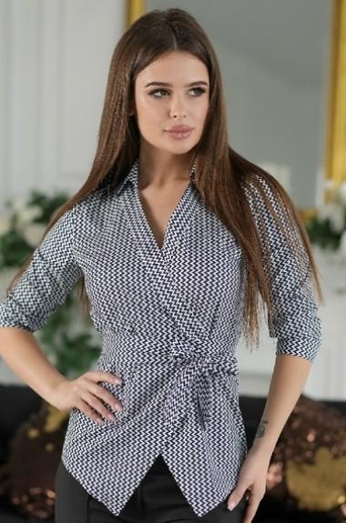 Блузка женская с запахом OLY-185A210