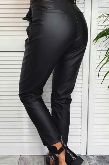 Модные кожаные брюки NAV-0306A350