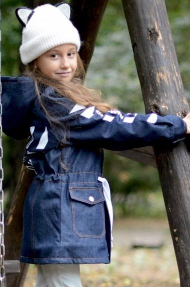 Детская джинсовая парка EV-18A750