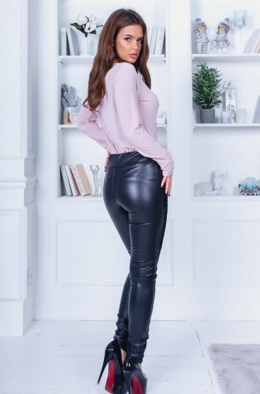 Красивые кожаные штаны VCH-561A9