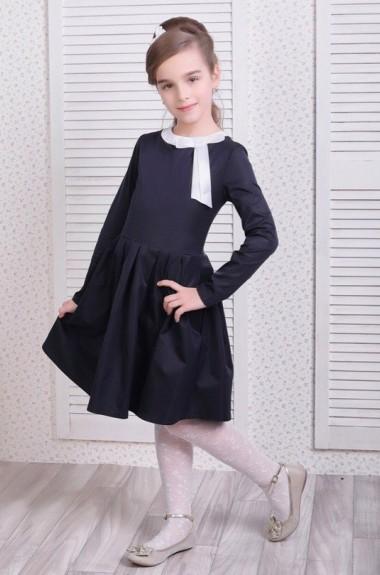 Платье в складку для девочки KL-211