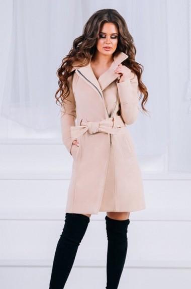 Модное кашемировое пальто EKS-509
