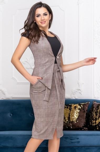 Костюм юбка и жилет DG-ak0504A450