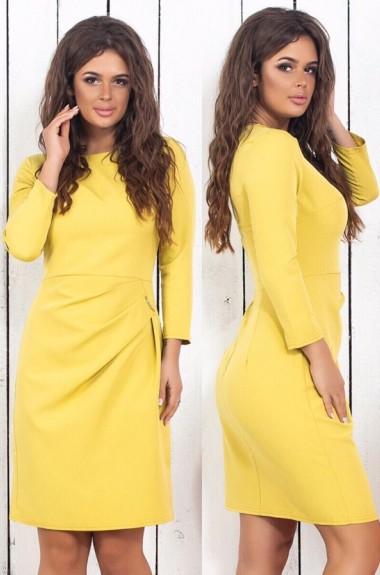 Облегающее платье до колен SLD-640